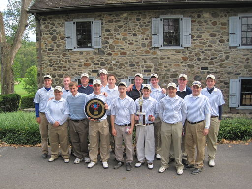 Golf Team Wins 2011 PCL Championship