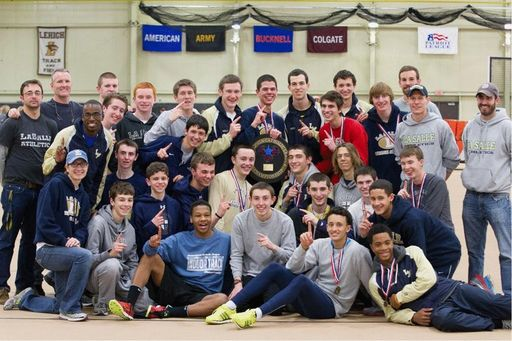 Indoor Track & Field Team Wins Catholic League Championship