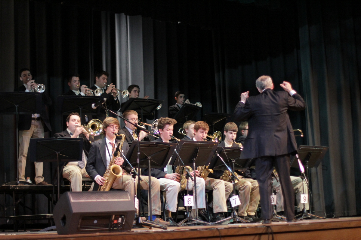 La Salle Competition Band Finishes First at 2013 Cavalcade of Bands Jazz Championships
