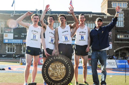 La Salle Distance Medley Relay Team Wins Championship of America at Penn Relays