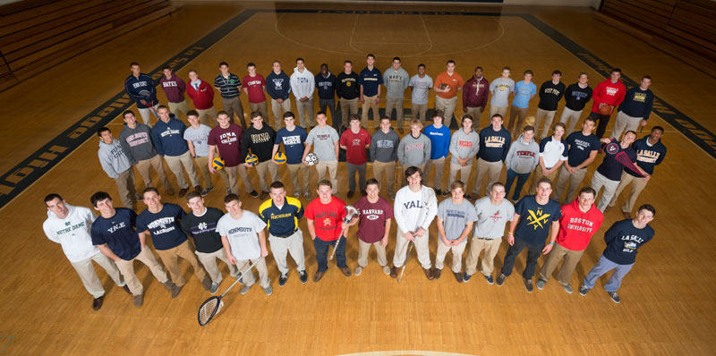 Class of 2013 Features 55 NCAA Recruited Athletes