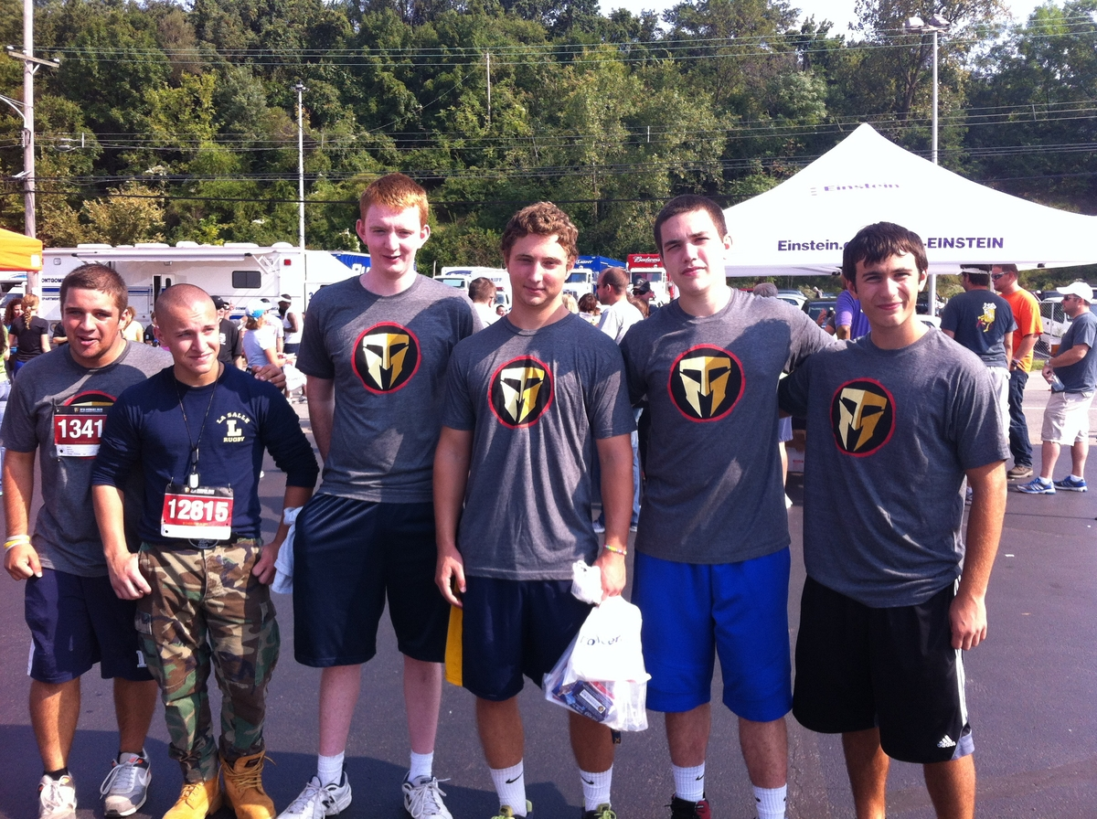 Rugby Team Supports 9/11 Heroes Run and Travis Manion Foundation