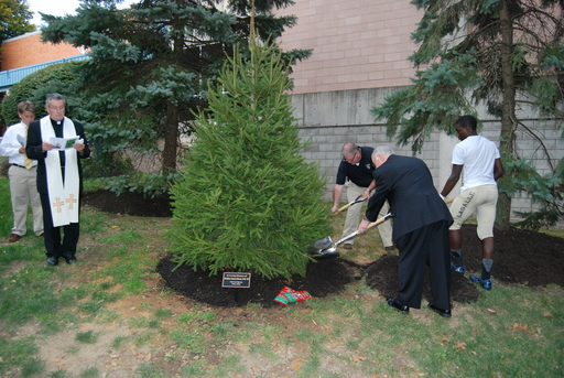 Tree Planted in Memory of Brother James Rieck, FSC '57