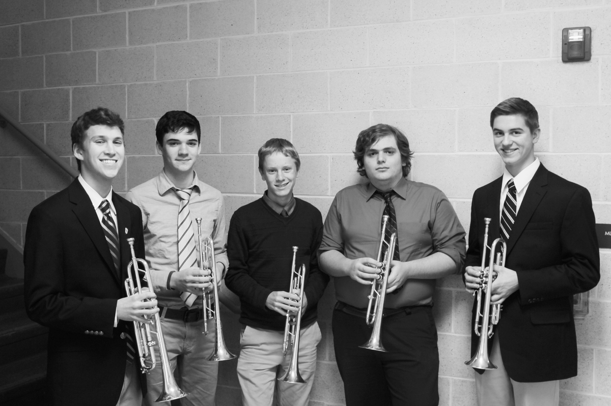 Five Members of Trumpet Ensemble Selected For International Trumpet Guild
