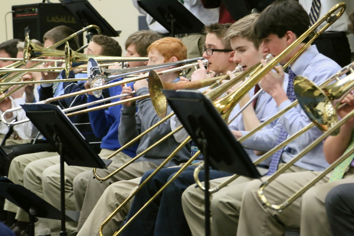 Four Members of the La Salle Music Program Receive District Honors