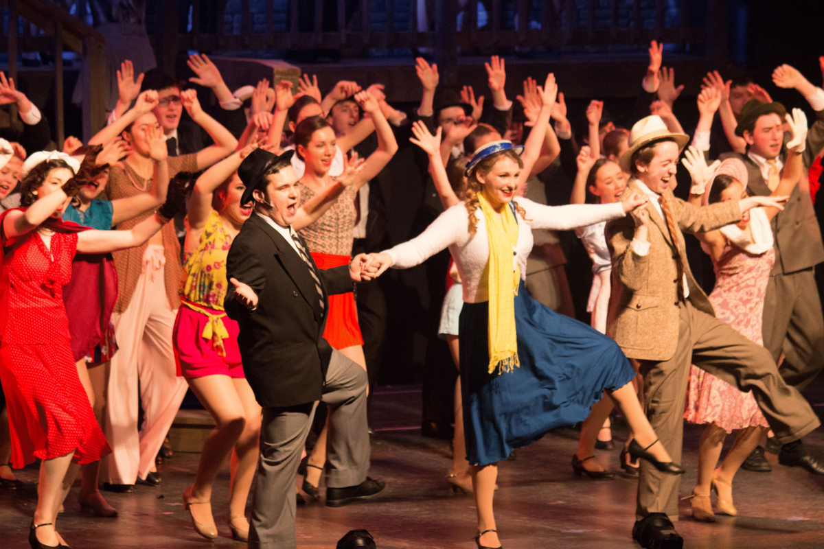 42nd Street Sets An All-Time Attendance Record for La Salle Theatre