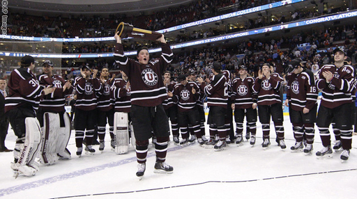 Former Hockey Standout Nick Cruice Wins Division I National Championship