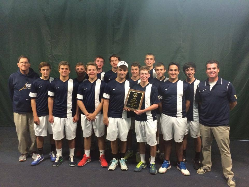 Tennis Teams Wins 5th Consecutive City Championship
