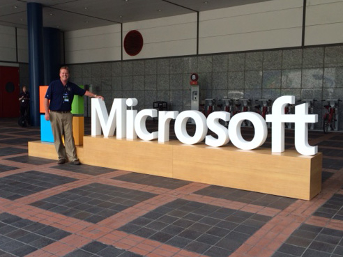 CIO Peter Sigmund '85 Attends Microsoft TechEd Conference
