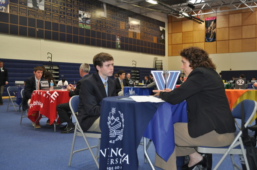 63 Admissions Representatives Attend College Interview Day