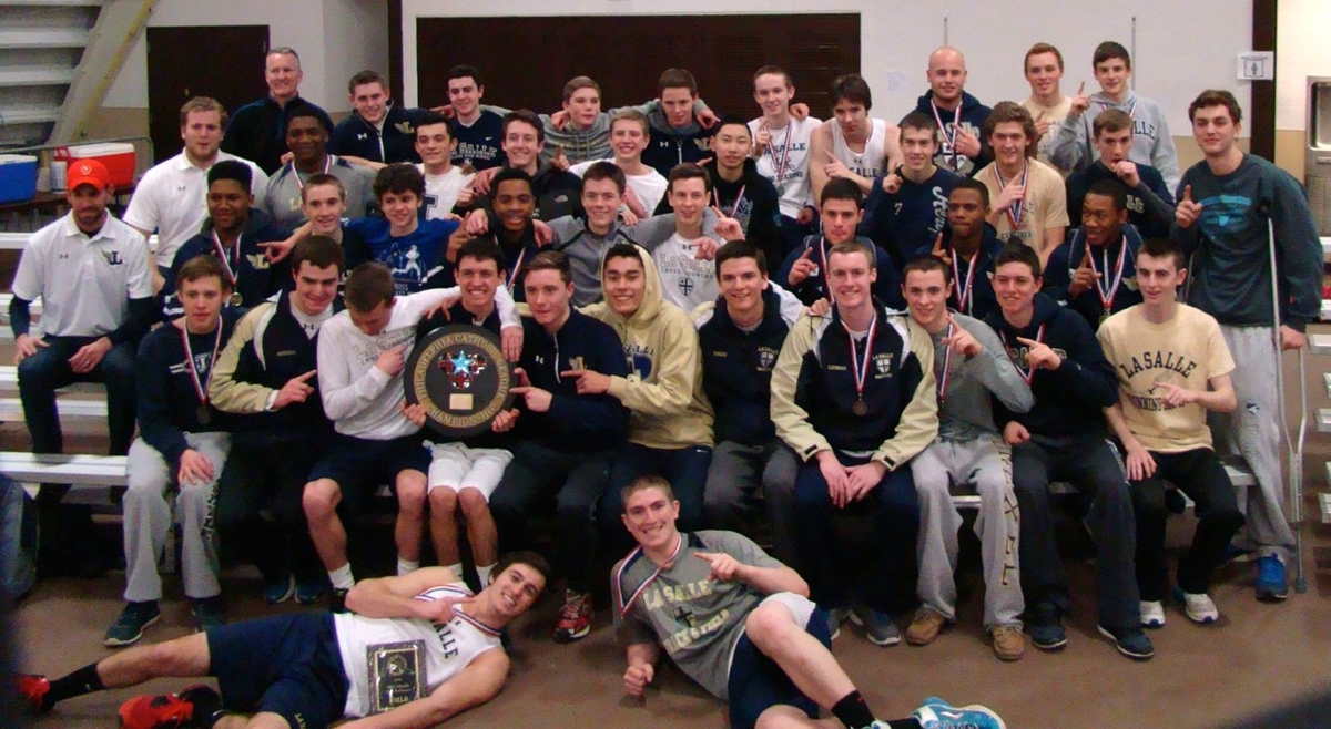 Track and Field Team Wins Indoor Catholic League Championship