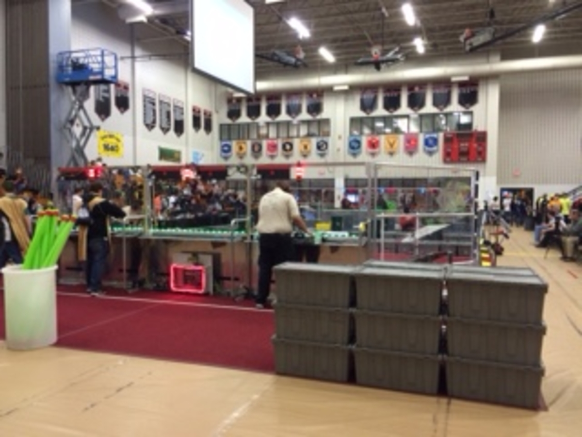 Robotics Team To Compete In District Competition This Weekend