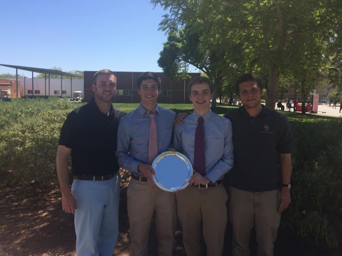 Conor Hogan '15 and Jack Grogan '15 Place 3rd in Policy Debate at NDCA National Championship