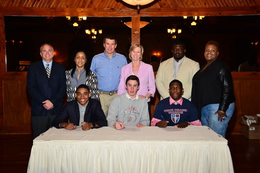 Three Basketball Players Sign National Letters of Intent