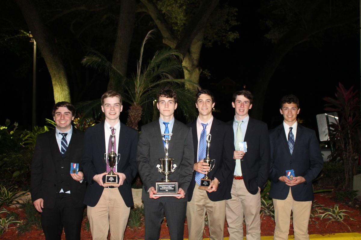 Seniors Hogan and Grogan Place 3rd in Policy Debate at National Catholic Finals; La Salle Wins School of Excellence Award