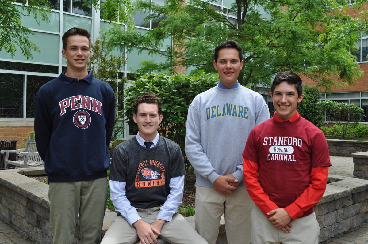 Four Seniors Prepare For College Rowing Programs