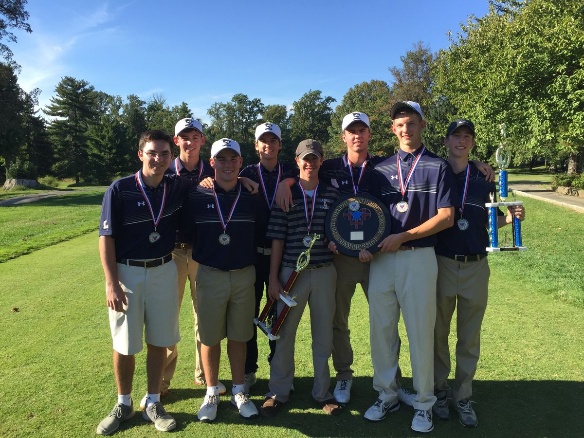 Golf Team Captures the Philadelphia Catholic League Championship