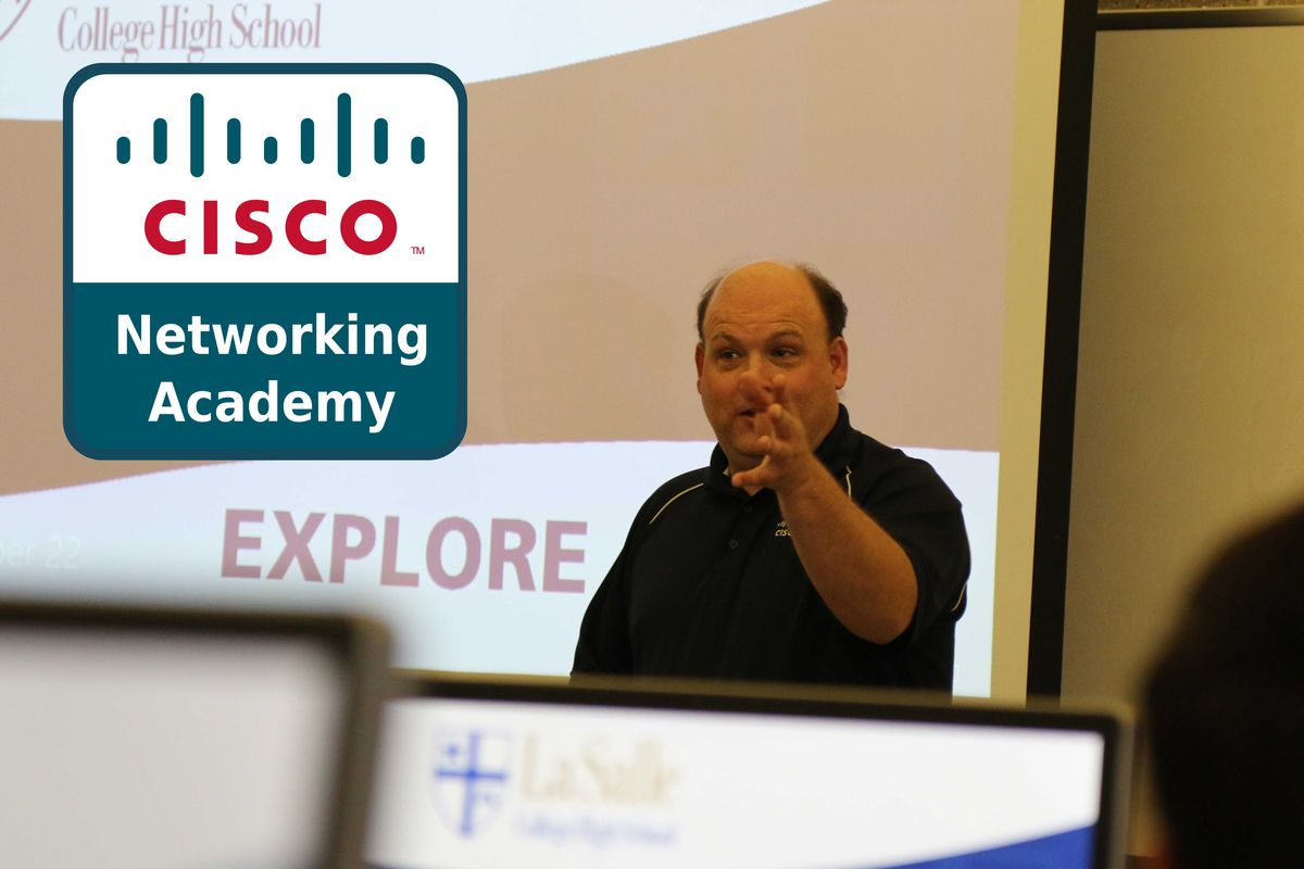 Network Engineer from Cisco visits La Salle