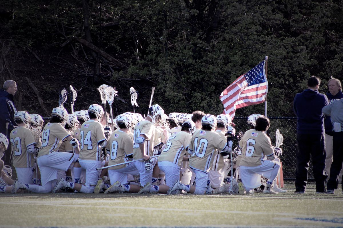 Varsity Lacrosse Defeats DeMatha In Annual 'Fallen Heroes Game'
