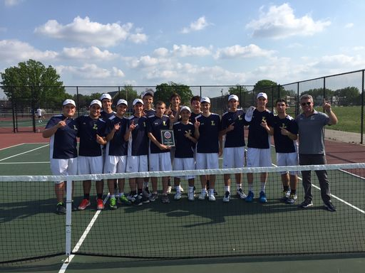 Tennis Team Wins 7th Consecutive PIAA District 12 City Championship