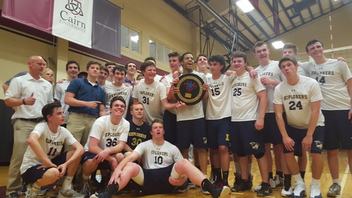 Volleyball Team Wins Catholic League Championship