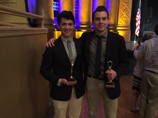 Nick Petaccio '16 and Evan Dugery '16 Finish 14th at National Catholic Specch and Debate Finals