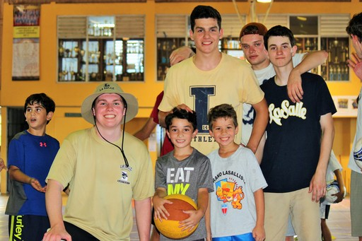 Over 120 Rising Seniors Live the Lasallian Mission Through Summer Service