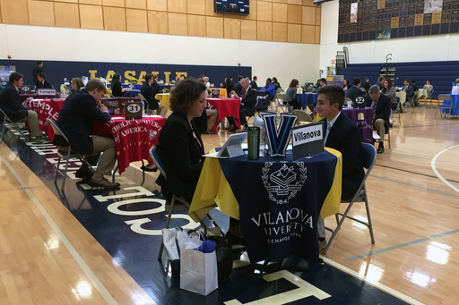 44 Admissions Representatives Attend College Interview Day