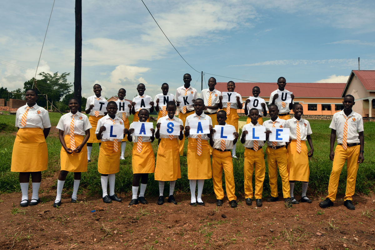 La Salle Supports High School in Uganda