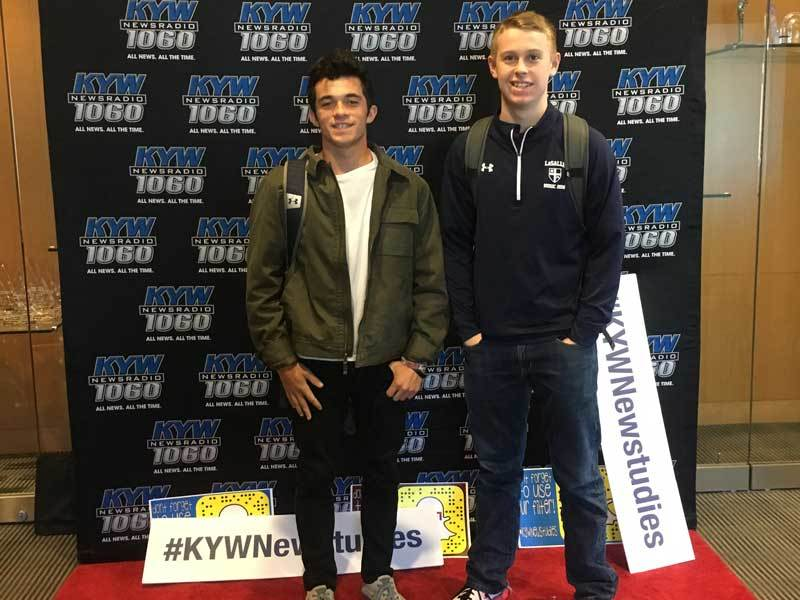WEXP Student Leaders Complete KYW Newstudies Program