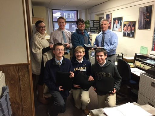 La Salle Donates Laptops To Visitation BVM School in Kensington Through Community TechServe Program