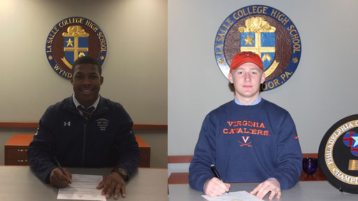 Student-Athletes Sign Letters Of Commitment On National Signing Day