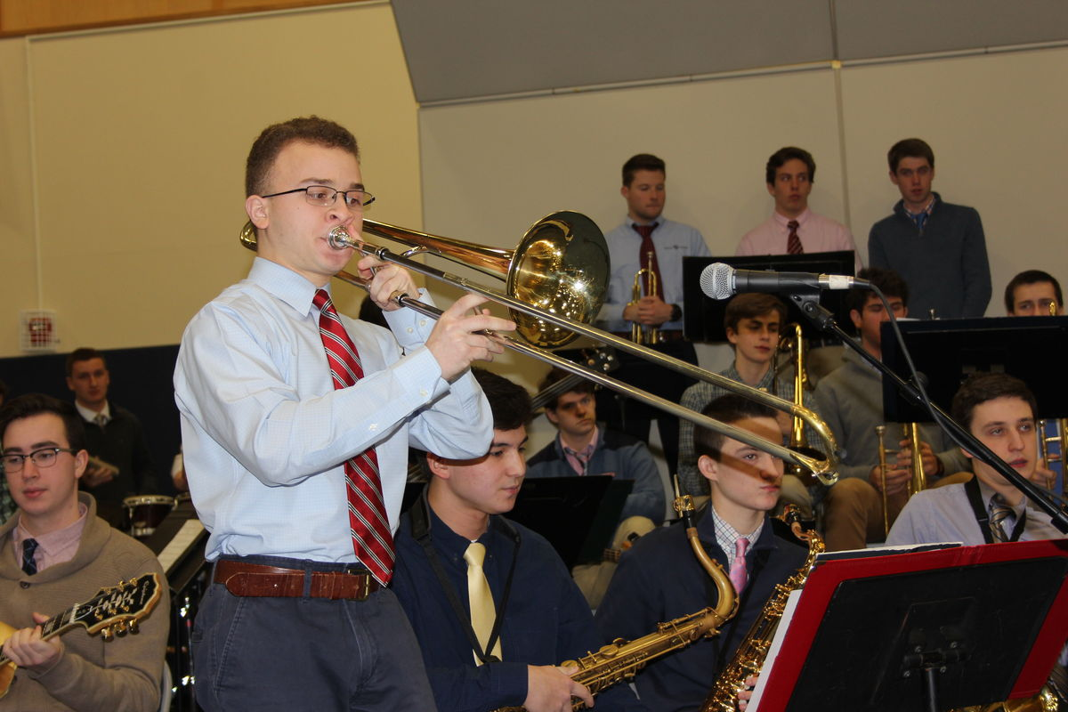 Music Department Hosts Annual Jazz Band Assembly
