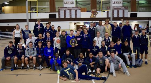 Indoor Track Team Wins 3rd Consecutive Catholic League Championship