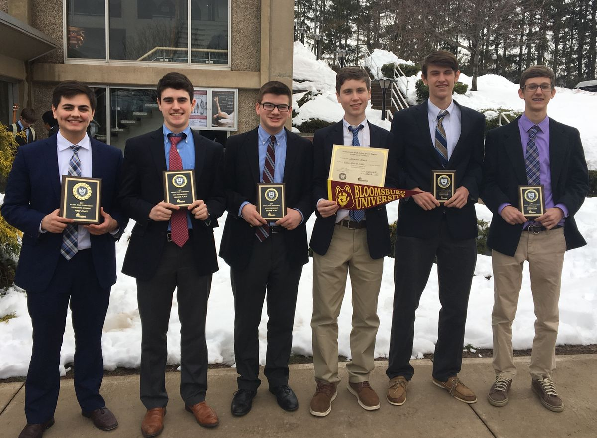 Speech and Debate Team Ends Qualifier Season Strong