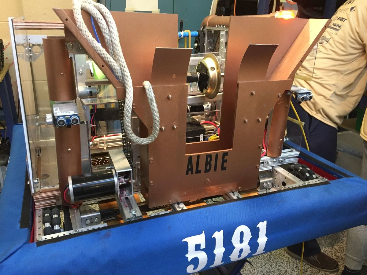 Robotics Team Advances To First Mid Atlantic Championship For First