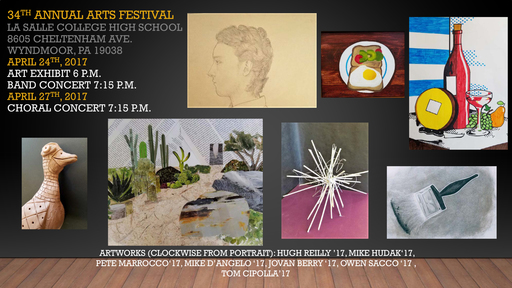 34th Annual Arts Festival Begins Monday, April 24th