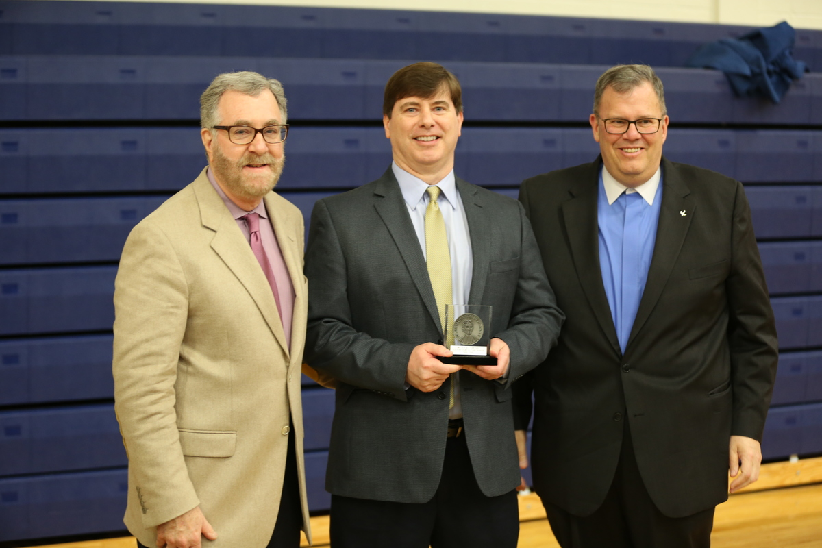 Terry Gillespie '82 Honored As Lasallian Educator of the Year