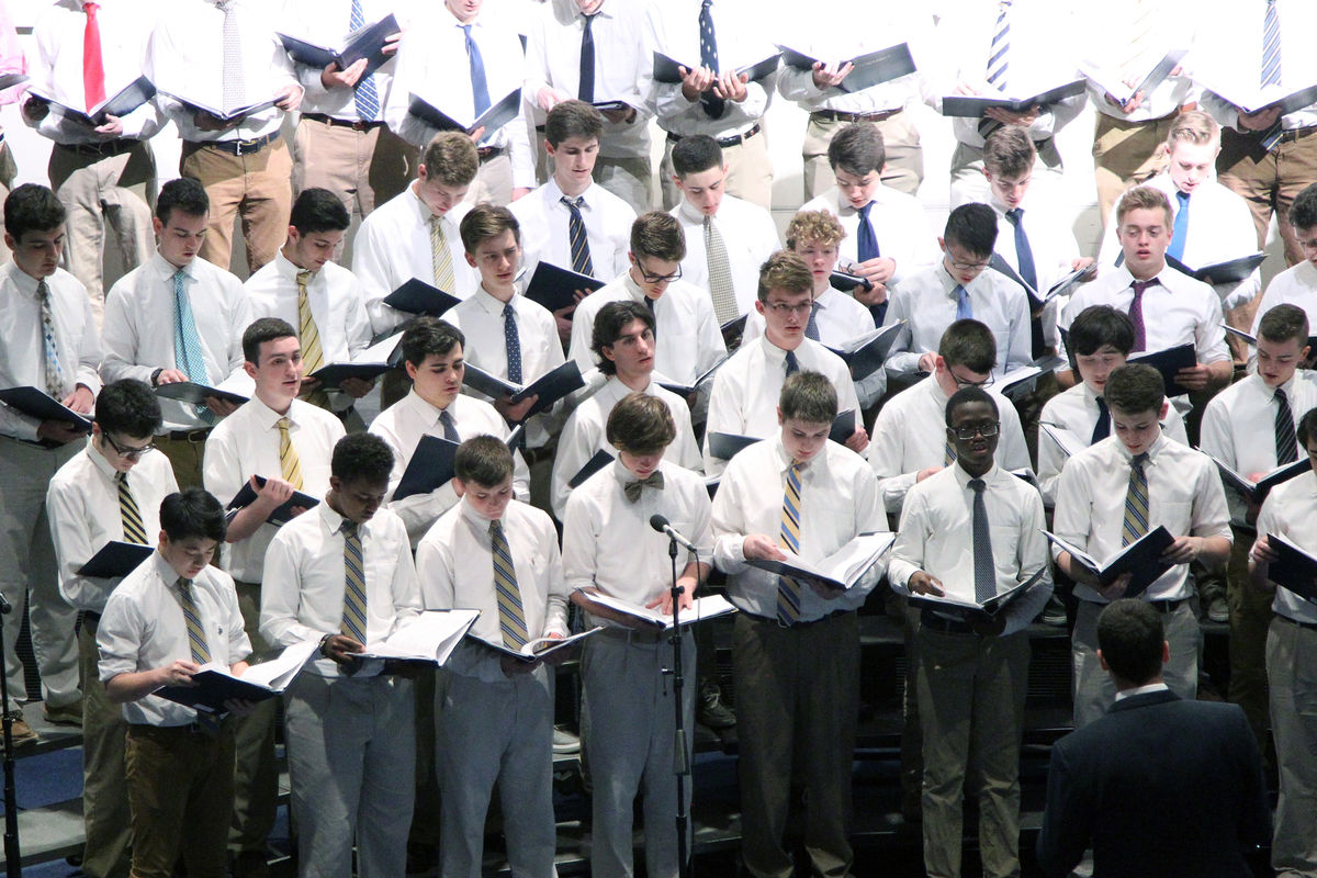 Spring Chorus Concert Concludes Annual Student Arts Festival