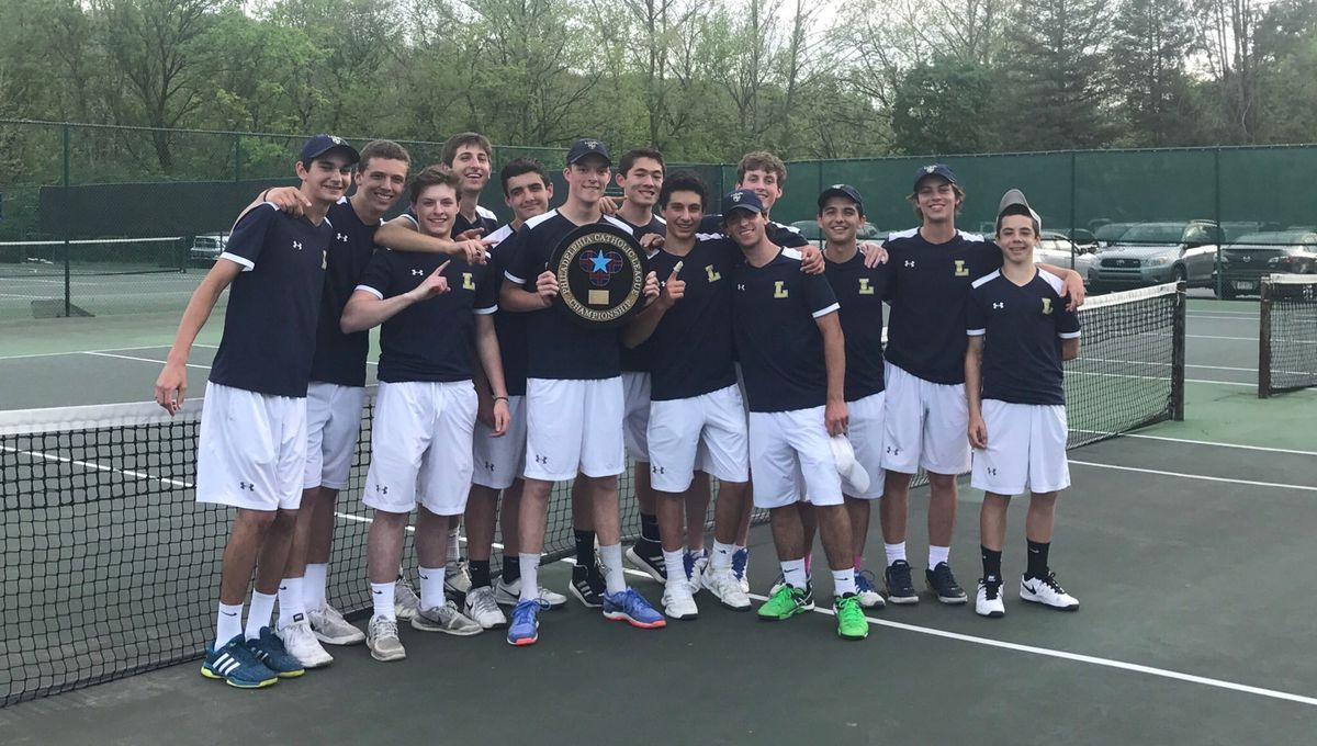 Tennis Team Wins 11th Straight Catholic League Championship