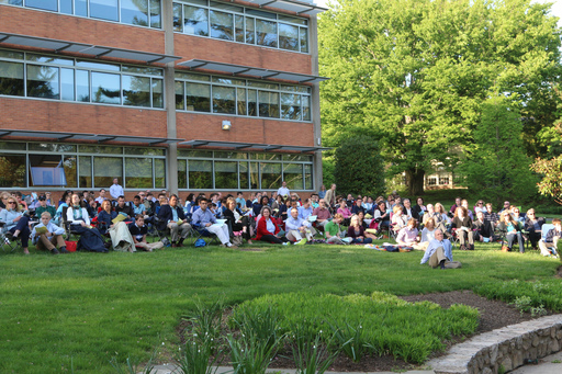 Students and Families Gather for Summer Service Commissioning Prayer Service