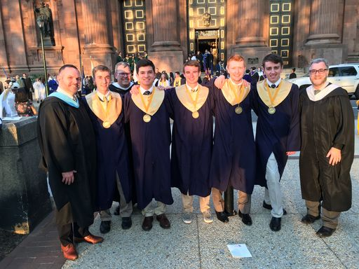 Seniors Honored At 38th Annual Archdiocesan Academic Honors Convocation