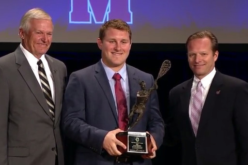 Matt Rambo '13 Wins The Tewaaraton Award