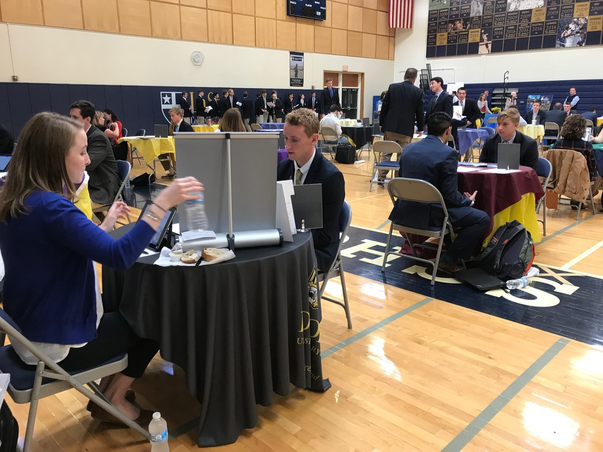 Over 50 Schools Attend College Interview Day For Class of 2018