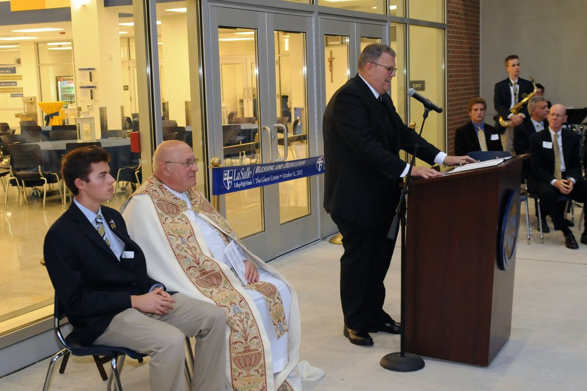 Blessing and Dedication of the Glaser Center