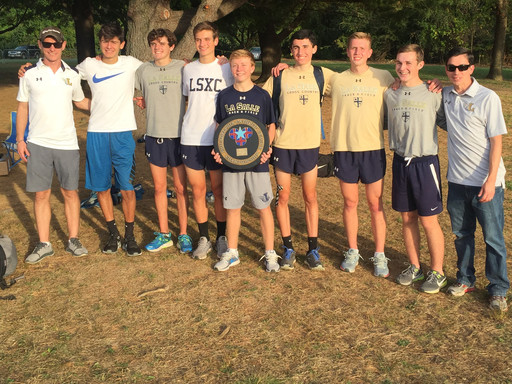 Cross Country Team Wins 3rd Consecutive Catholic League Championship