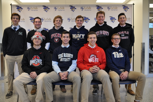 Explorers Sign National Letters of Intent on Fall Signing Day