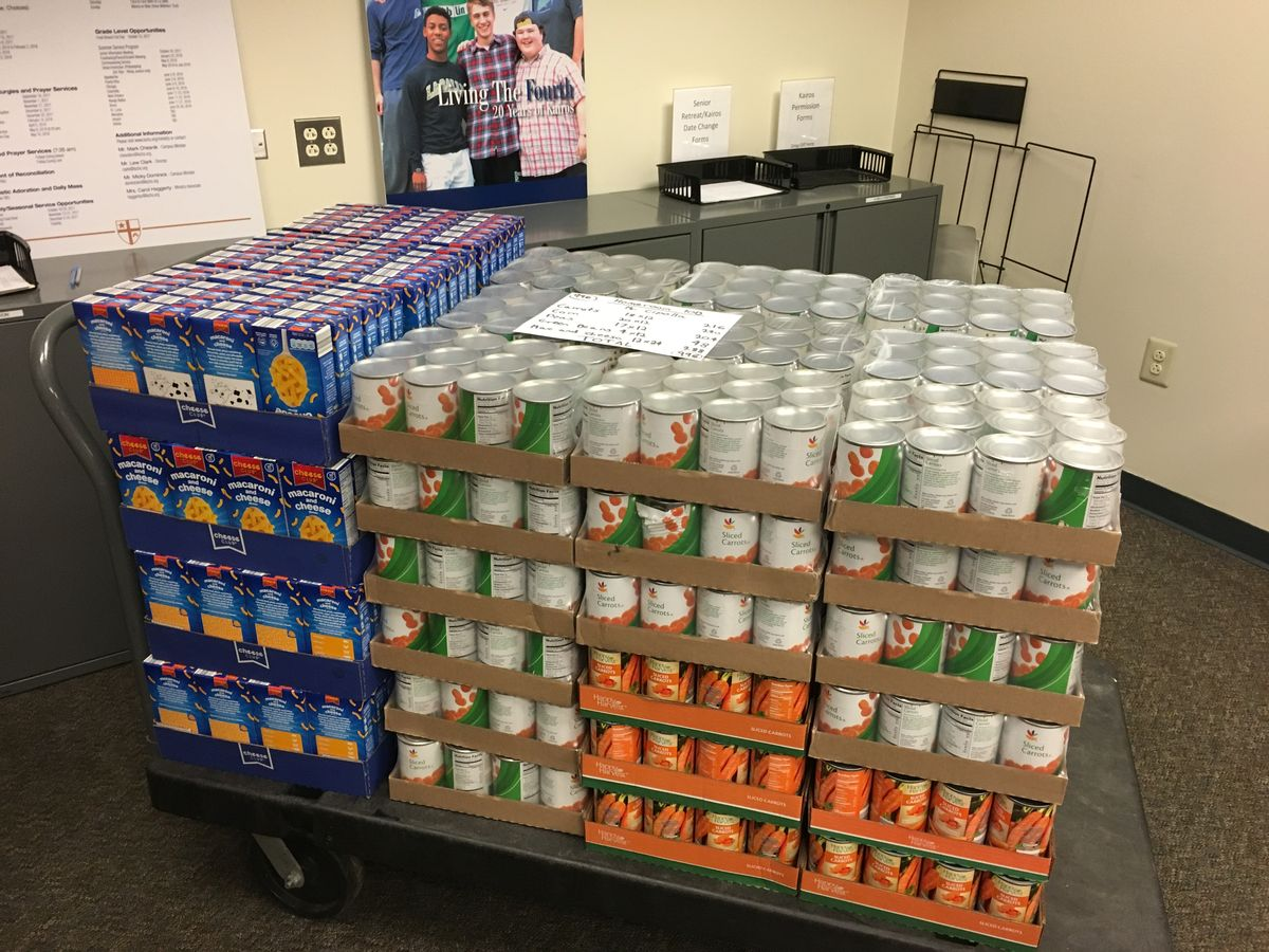 La Salle Community Comes Together To Support Annual Thanksgiving Food Drive