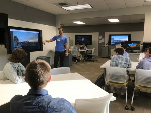Google's Ryan Warrender '08 Speaks With IST Students