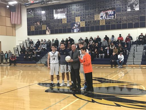 Varsity Basketball Head Coach Joe Dempsey Wins 200th Game